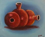# 114 Three Vases